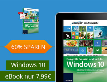 Windows 10 eBook nur 7,99€